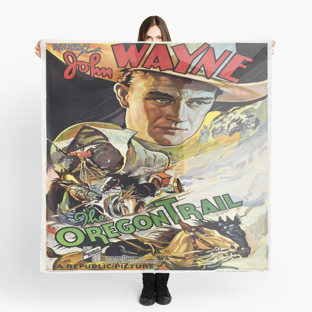 Vintage poster - The Oregon Trail Scarf