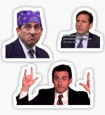 The Office Michael Scott Sticker Pack Sticker