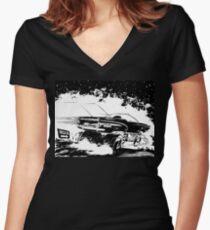 AREA 51 STAR CRUISER Women's Fitted V-Neck T-Shirt