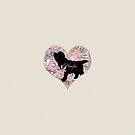 Newfie Puppy by Christine Mullis