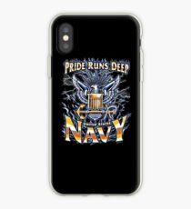 US Navy, Pride Runs Deep iPhone Case