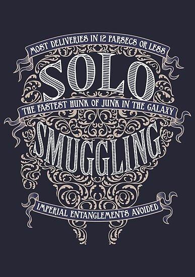 Solo Smuggling - Dark by DoodleDojo