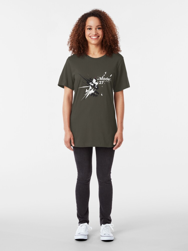 Alternate view of Model 27 /// Slim Fit T-Shirt