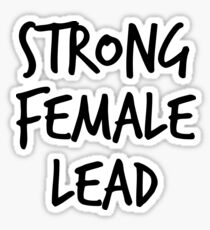 Strong Female Lead Sticker