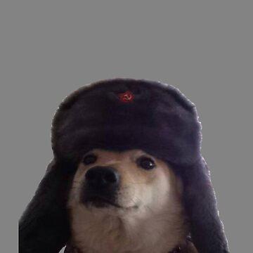 Communist Dog by SHARMO