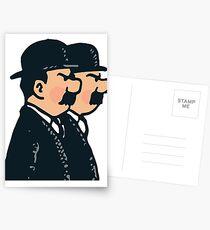 Tintin - Thomson twins Postcards