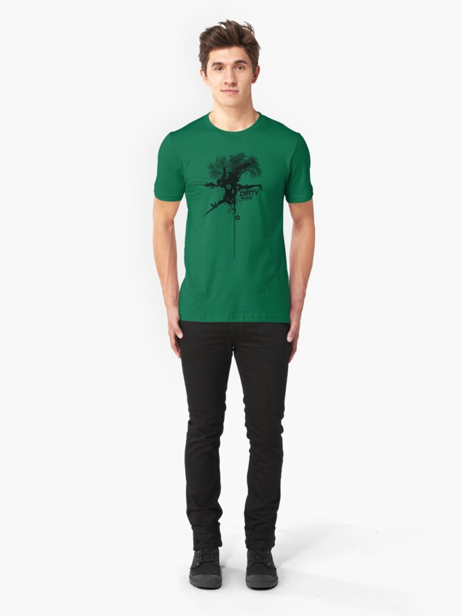 Alternate view of Dirty Weapon Slim Fit T-Shirt