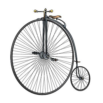 Penny Farthing Bike  by natsmith1