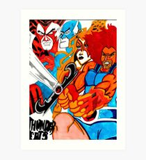 Thunder Cats On The Loose Classic Art Print