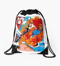 Thunder Cats On The Loose Classic Drawstring Bag