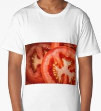 fresh raw tomatoes  Long T-Shirt