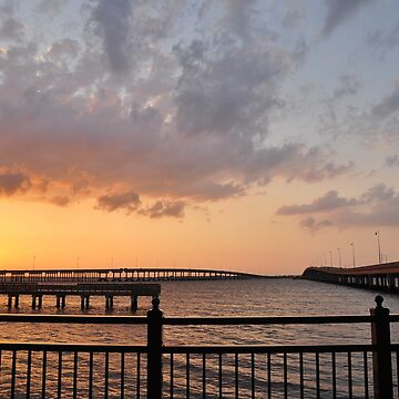 Charlotte Harbor at Sunset, As Is by fotokmcc