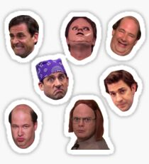Das Office Faces Stickerpack Sticker