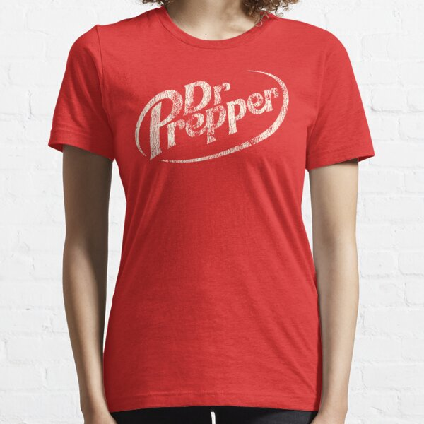 Dr. Prepper - Distressed White Essential T-Shirt