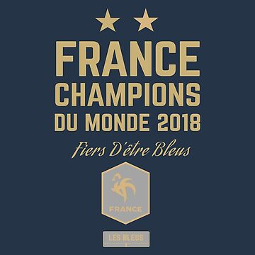 France World Cup 2018 Shirts - France World Cup Champions Shirts - FIFA World Cup Champion 2018 Products  by UNIQ-Apparel