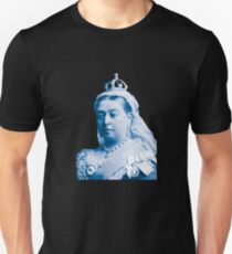 Queen Victoria Blue Image Unisex T-Shirt