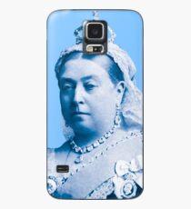 Queen Victoria Blue Image Case/Skin for Samsung Galaxy