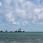 Fairport Harbor Lighthouse by Monnie Ryan