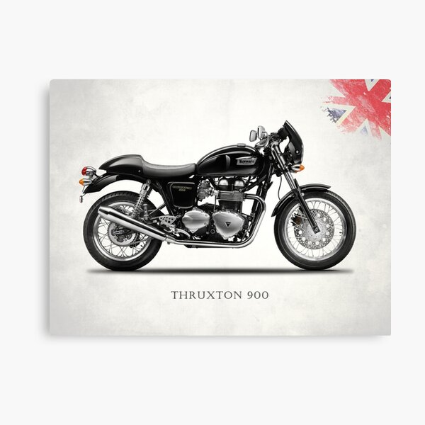 The Thruxton 900 Canvas Print