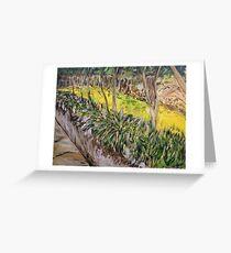 The Garden Wall - Leura Greeting Card
