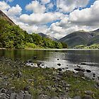 Scafell Over Wastwater by Reg-K-Atkinson