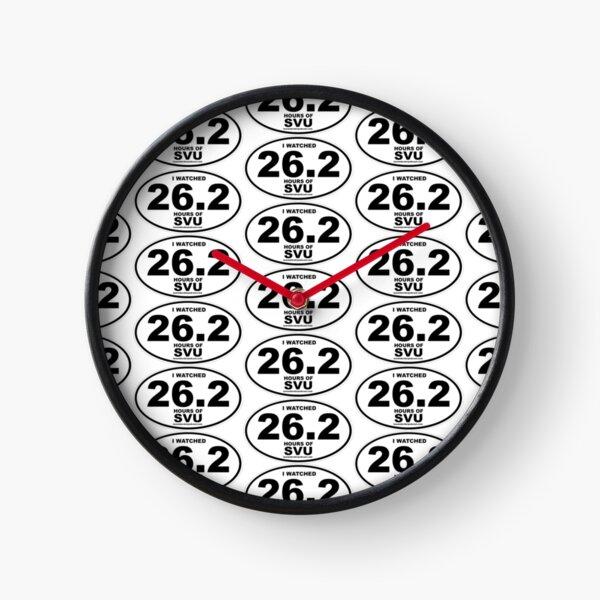 SVU Marathon Gear Clock