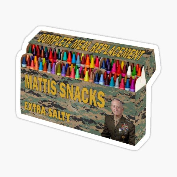 Mattis Snacks Gold Edition Sticker