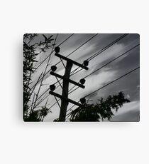 Acrylic sky. Canvas Print