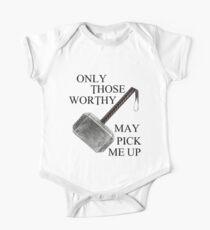 Thor Worthy Short Sleeve Baby One-Piece