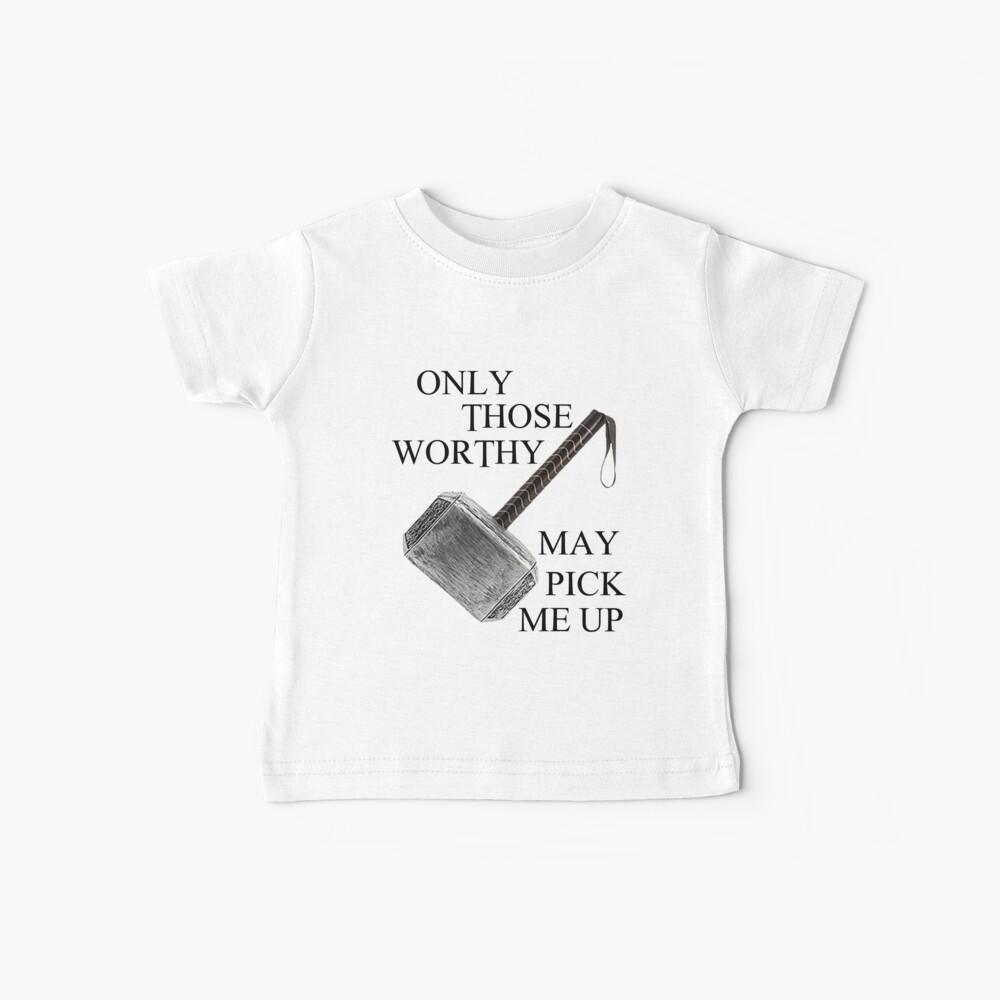 Thor Worthy Camiseta para bebés