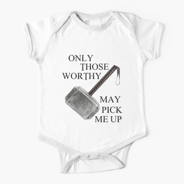 Thor Worthy Short Sleeve Baby One-Piece