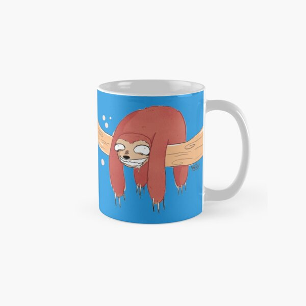 Hanging in There Sloth Classic Mug