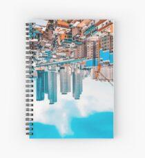 upside down skyscrapers Spiral Notebook