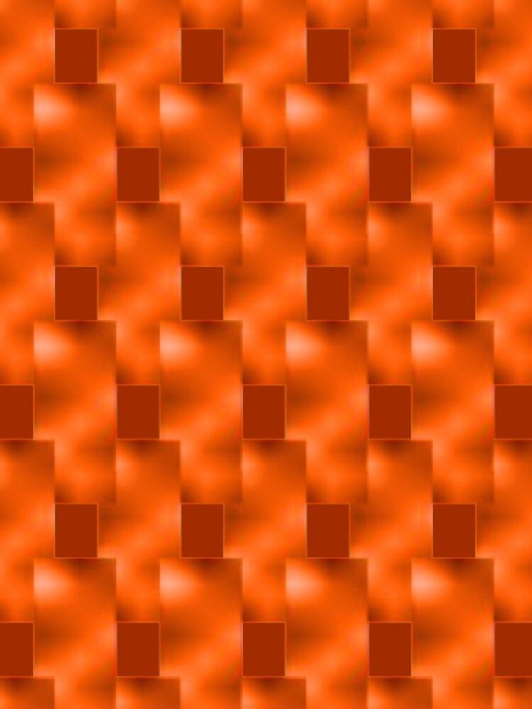 Rote Teller mit Rottönen von ShapesColors