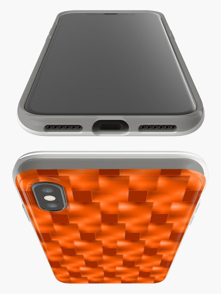 Alternative Ansicht von Rote Teller mit Rottönen iPhone-Hüllen & Cover