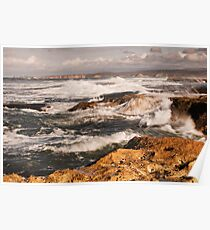 To Split Point,Point Roadknight,Anglesea,Great Ocean Road,Australia. Poster