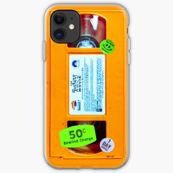 Slime Orange VHS Rug Rats iPhone Soft Case