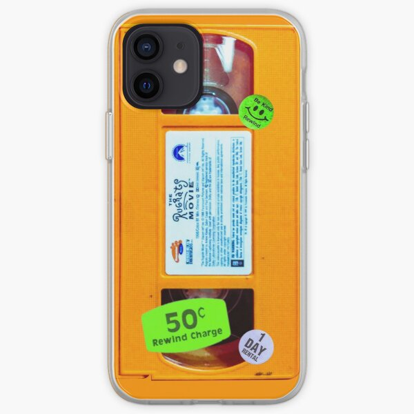 Slime Orange VHS Rug Rats Funda blanda para iPhone