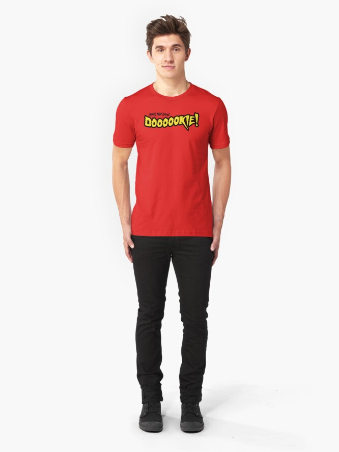 Alternate view of What's That Smell? Dookie! Slim Fit T-Shirt