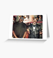 Funny Dog Filter Hip Hop Rappers 90s T-Shirt Greeting Card