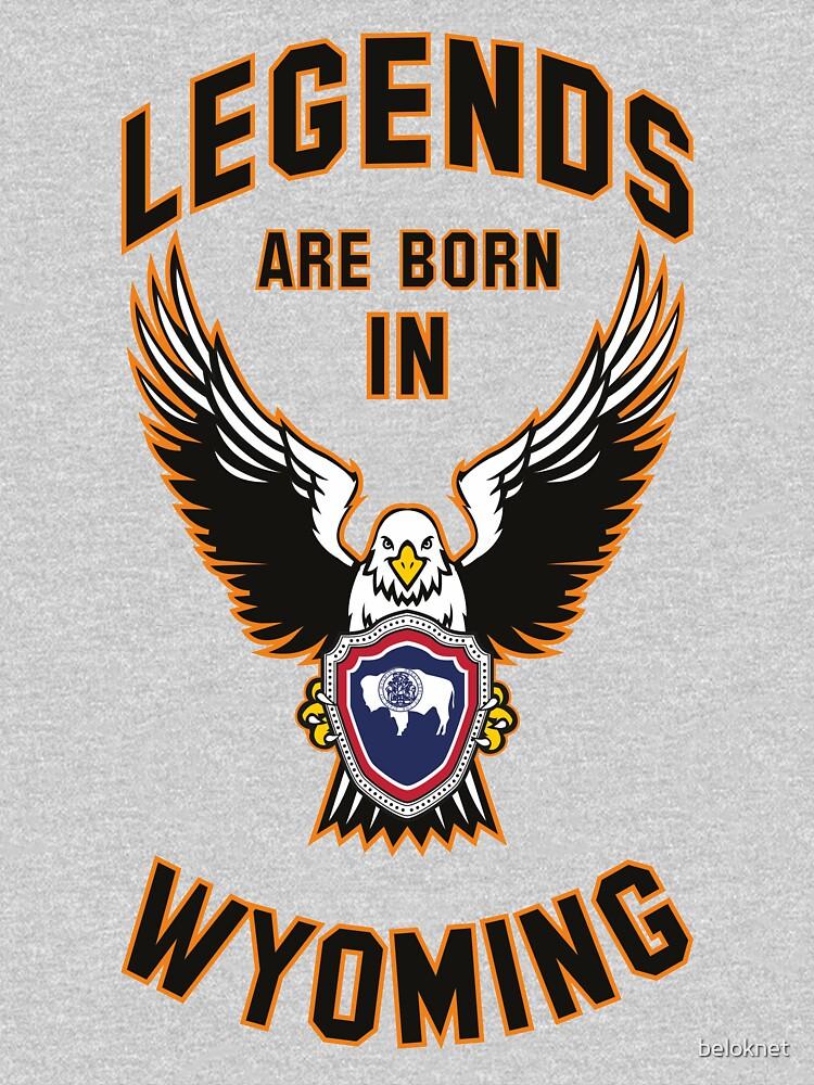 Legends are born in Wyoming by beloknet