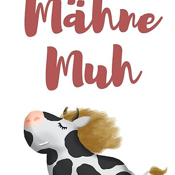 in german: fancy cow by Kellenbrink