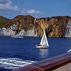 Sails off the port side ! by Nancy Richard