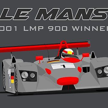 Le Mans Legend #1 - Audi R8 by MD-Colors