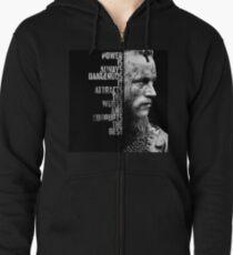 Vikings - Ragnar's quote Zipped Hoodie