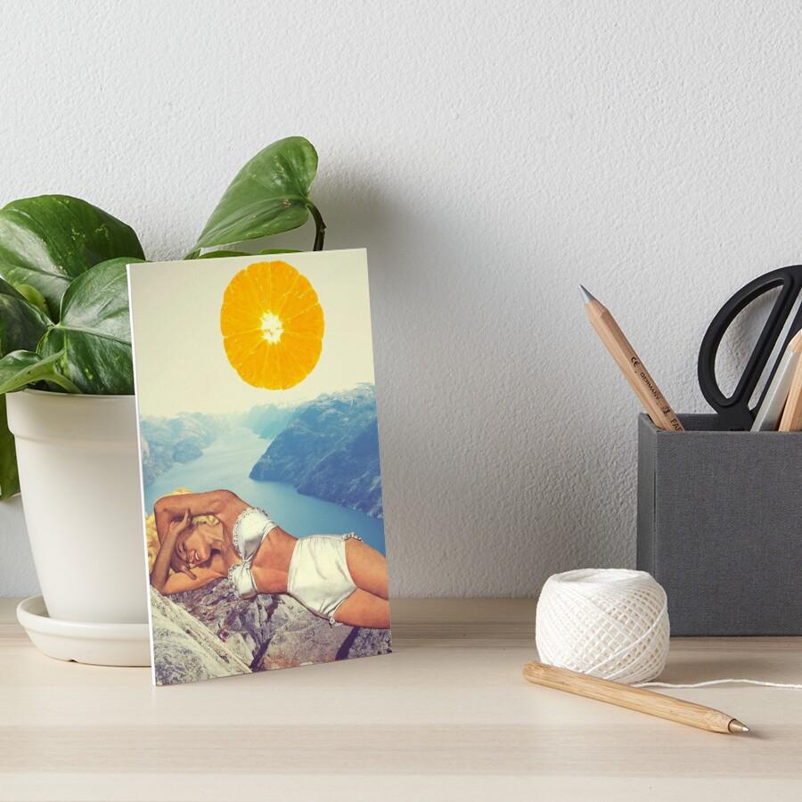 Vitamin Art Board Print