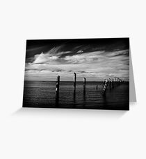 Jetty Remains Greeting Card
