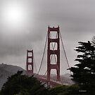 Golden Gate With A Glow by NancyC
