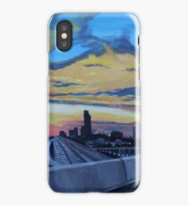 134. Usual Interruptions. (I10 & Sam Houston Tollway. Houston, Texas). iPhone Case