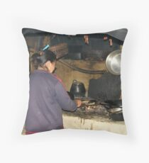 Cooking Lesson Throw Pillow